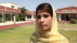 Hani Abdur Rasheed is one of about 500 students at the University of Turbat