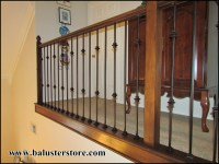 Iron balusters for stairs and balconies  balusterstore1