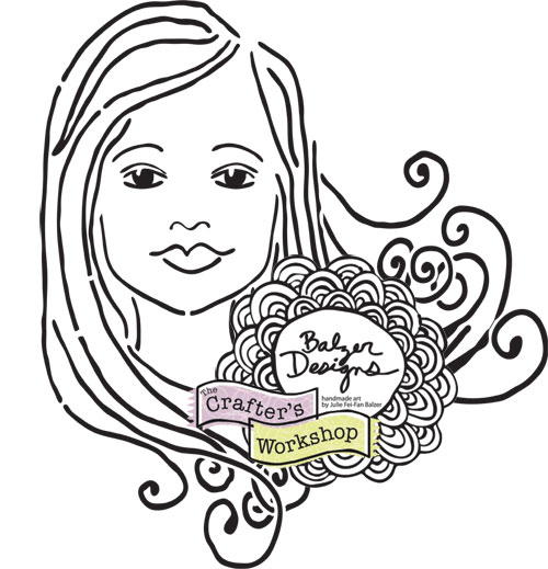Balzer Designs: Balzer Designs Stencil Hop: Faces