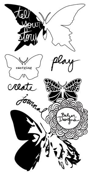 Balzer Designs: Stencil Hop Spring 2012