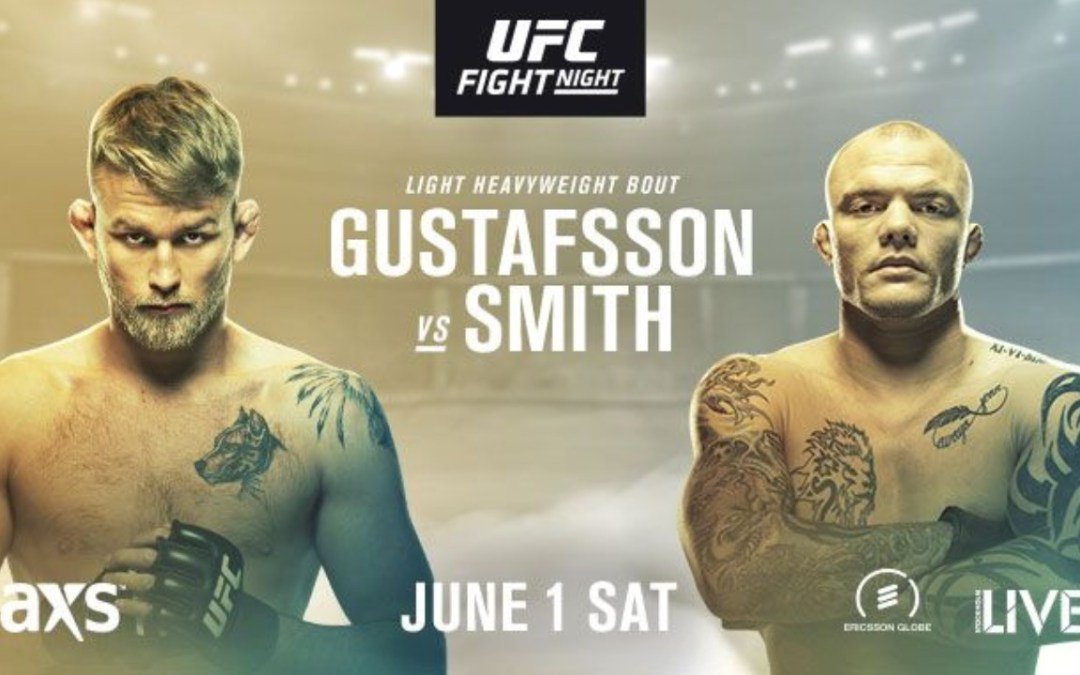 """Watch """"UFC Stockholm: Smith and Gustafsson Octagon Interview"""" on Bamabjj.com – great win!"""