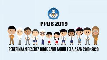 penerimaan peserta didik baru ppdb 2019