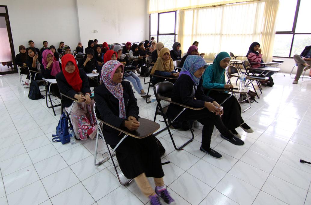 Peserta seminar pers mahasiswa