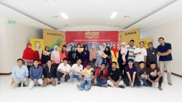 Para peserta Workshop Monetizasi Blog yang diadakan oleh Komunitas ISB bagi para warganet di Balikpapan