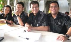 Foto bareng dengan team Kuis @Jakarta
