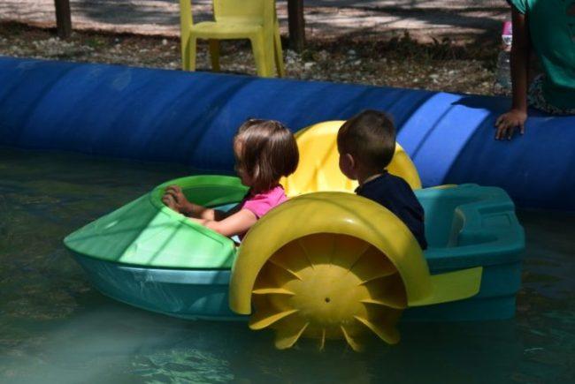 parco avventura Activo park laghetto per bambini