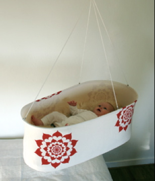 Knoppa Red Flower Hanging Cradle