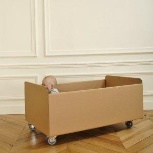 Customisable Cardboard Cot by Album Di Famiglia
