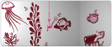 e-Glue wall stickers for baby nursery and kids bedrooms