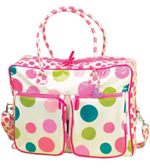 Stylish Holiday Buy: Dotty Holdall