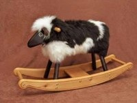 Heirloom Jacob Rocking Lamb