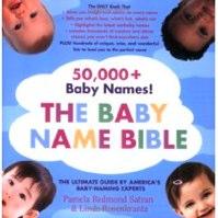Cool Baby Naming Books