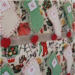 Mini Stocking Advent Calendar by Papilio