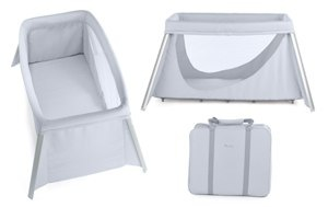 Coming Soon: Easy Sleeper Travel Cot by Silver Cross