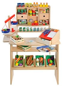 Pretend Play Shop Focus