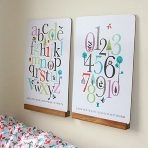 ISAK ABC & Number Workboards/Wall Decorations