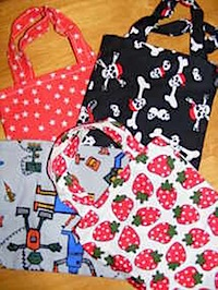 Budget Friendly Handmade Cloth Party Bags from Charlie Moos