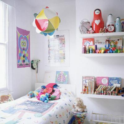 Get the Look… White Children's Bedroom