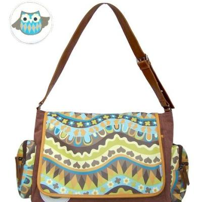 Cutie Pie Owl Nappy Bag by Disaster Designs