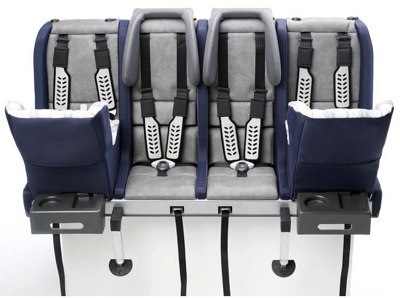 Multimac 3 and 4-Seater Car Seats