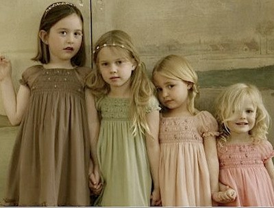 Stylish Flowergirl & Bridesmaid Dresses by Ilovegorgeous