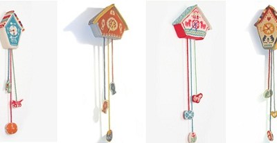 Andrea Williamson's Knitted Clocks