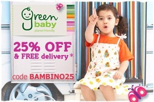 New Discount: Get 25% off at Green Baby
