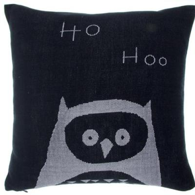 Couverture owl cushion