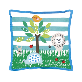 Designers Guild wildlife cushion
