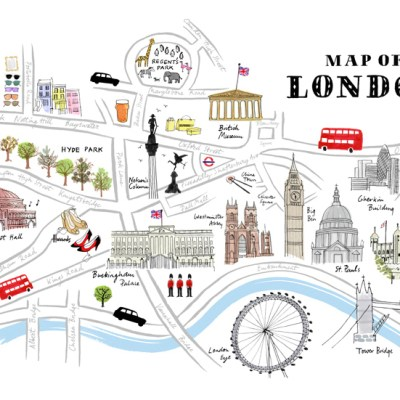 10 ideas for London-themed Rooms