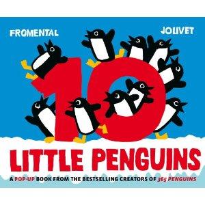 10 Little Penguins Pop-Up Book