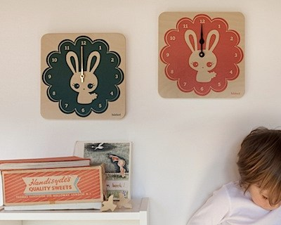 First Look: LulaBunny clocks by Lulabird