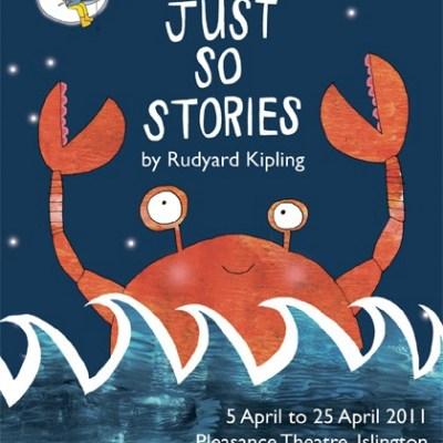 Rudyard Kipling's 'Just So Stories' at the Pleasance Theatre