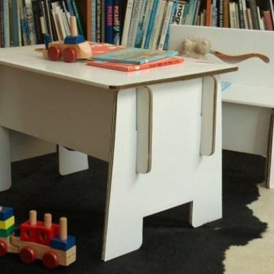 Hot buy: half-price Green Lullaby cardboard furniture at Beaming Baby