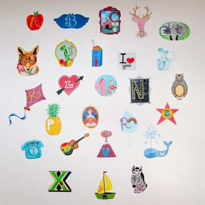 Sticky Tiki wall decals