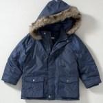 John Lewis Parka Jacket blue