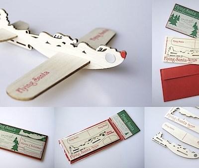 Flying Santa Card by studio91