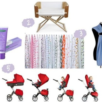 Kat's Ten Favourite Baby Products