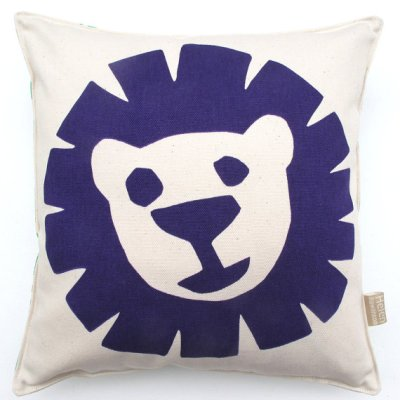 Helen Rawlinson lion cushion