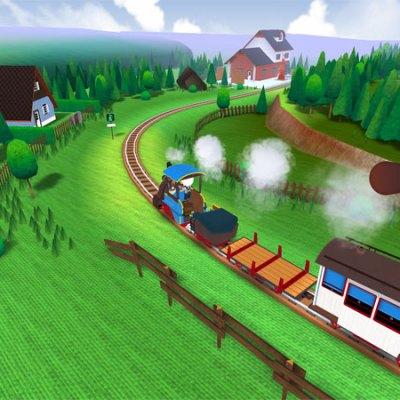 Out today! Toca Boca Train iPad/iPhone app