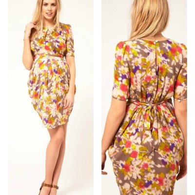 Hot Buy: ASOS Maternity Tulip Dress In Floral Print