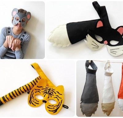 BHB Kid Style Masks & Tails
