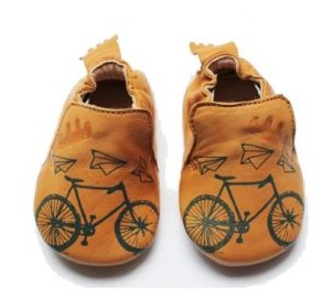 Easy Peasy bicycle baby shoes