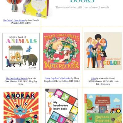 BG Christmas Gift Guide: books