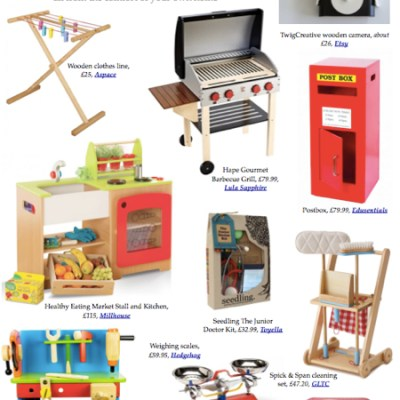 BG Christmas Gift Guide 2012: pretend play