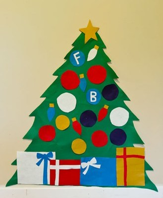 Make Your Own: felt Christmas tree