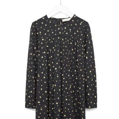 Hot on the high street: Zara Kids Studio star-print dress