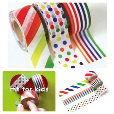 MT for kids washi tape