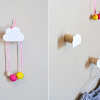 Make Your Own: Decorative Children's Wall Hooks