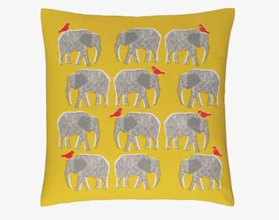 Hot on the high street: Habitat Topsy elephant cushion